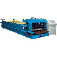 Quality Cr12 Mould Steel Cutter Glazed tile roll forming machine 5.5KW ISO9001 with high production speed for sale