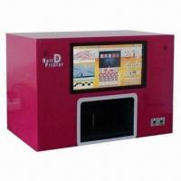Buy cheap 12pcs Touch Screen Digital Nail Art Machine, Printing on Natural and Artificial from wholesalers