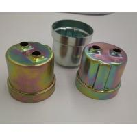 Quality Customized Deep Drawn Metal Parts material Steel Surface Plating Zinc for Automotive Components for sale
