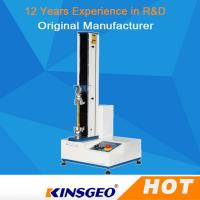 Buy cheap 0.5% Accuracy Computer Tape Peel Adhesion Tester / Tensile Strength Testing Equipment product