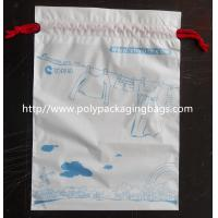 Quality Lovely Recyclable Drawstring Plastic Bags For Children Toy / Books for sale