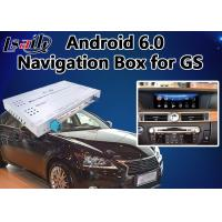 Quality Android 6.0 Video Interface for Lexus GS 2014-2018 mouse version, Car Gps Navigation Box Mirrorlink GS450h GS350 for sale