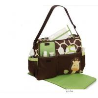 Custom Popular Designer Baby Diaper Bags Small Nappy Changing Bag with Logo Printed