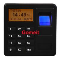 Buy cheap Fingerprint Standalone Keypad Access Control ABS Plastic 8 Users Password from wholesalers