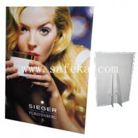 Quality Custom Corrugated Cardboard Standee Displays,Easel Display Stands for sale