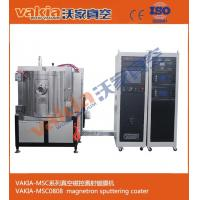 Quality Magnetron Sputtering Plating Machinery For Vakia Vacuum MSC0808 Nylon Silver for sale