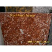 Quality marble-Orient Rosso Francia for sale