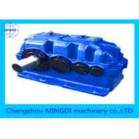 Quality Hard Gear Face Shaft Mounted Gearbox For Food Machinery , Helical Gear Box for sale