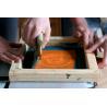 Buy cheap Silk screen printing metal fabric from wholesalers