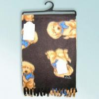 Quality 100% Polar Fleece Printed Scarf Measuring 138 x 25cm with 5cm Fringe for sale