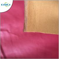 China Non Deformable PVC Leather Fabric Modern Design For Shoes And Bags on sale