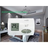 Quality White Color Household Non Programmable Thermostat For Heating And Cooling for sale