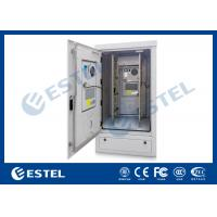 Quality 40U Anti-Rust Paint Outdoor Equipment Enclosure Climate Controlled Cabinet for sale