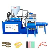 Quality (slide type)two workstation horizontal plastic injection molding machine for sale