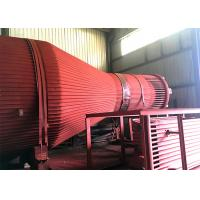China High Efficient Special Shape Boiler Cyclone Separator Gas Solid Separation Stable on sale