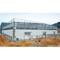 China Hot - dipped Galvanized C & Z Beams Garage Steel Frame House-Light steel frames on sale