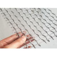 Quality Stainless Steel Architectural Wire Mesh For Exterior Decorative Railings for sale