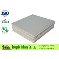Quality Glass Filled PTFE Molded Sheet Of Natural White Plate for sale