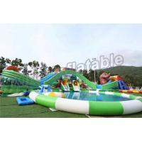 Buy cheap Fun Outdoor Amusement Park Inflatable Water Parks For Adults And Childrens from wholesalers