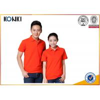 China Cotton / Polyester Golf Polo Shirt Knitted Mens Custom Printed Polo Shirts on sale