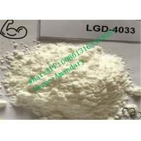 Quality Raw SARMs Steroids LGD-4033 Powder CAS 1165910-22-4 for Bodybuilding for sale