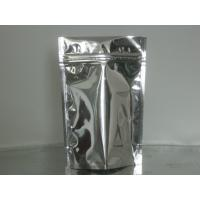 Quality Custom Stand Up Metalized Foil Stand Up Pouches With Press / Slider Zipper for sale