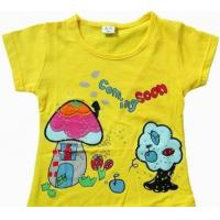 China TPA1043 children garment/infant clothes/ kids' T-shirts/girls wear on sale