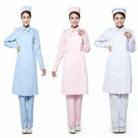 China hospital uniform NURSE LABCOAT on sale