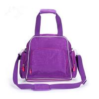 Purple Washable Diaper Bag Essentials TPDB007 For Small Baby and Girls