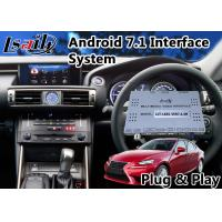 Quality Android 6.0 Interface GPS Navigation for 2013-2016 Lexus Is 300h with Google/Waze Map for sale
