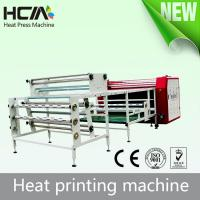Buy Roller Heat Press Printing Equipment With Conveyor Belt Automatic Adjustment Device at wholesale prices
