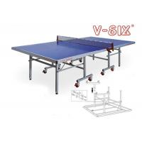 Buy cheap OT - 4MM Folding Outdoor Table Tennis Table 1525*2740*760 AP Board Material from wholesalers