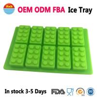 China Amazon Cool Big Giant Large Lego Ice Tray Block Silicone Molds Ice Cube Mould for Drinks on sale