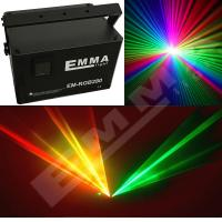 Quality 6W Laser Show System RGB full color DJ Disco Stage Party DMX Light for sale