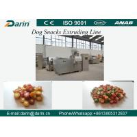 Quality DRD-100/DRD-300 Semi wet Pet dog treats / Dog dental chews food extruder machine for sale