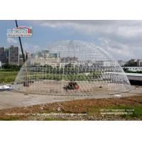 Buy cheap Large Durable Steel Diameter 55m Geodesic Dome Tents for Luxury Outdoor Event from wholesalers