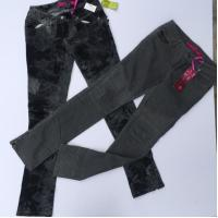 American in stock women's clothes Brand lady's skinny jeans Slim fitting pant stocks for sell ,2designs, full size