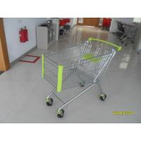 Buy cheap Liter Grocery Supermarket Shopping Cart , Auto Walk Casters Shopping Trolley KLO-A-150L from wholesalers