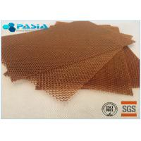 Quality Light Weight Flame Retardant Aramid Honeycomb Panels With Benzoxazine Resin for sale