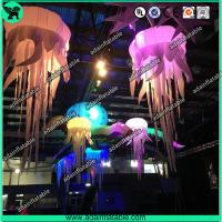 Quality 1m Stage Inflatable Lighting Led Decoration,Inflatable Jellyfish for Party for sale