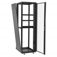 Quality 42u 37u Perforated Door Network Equipment Rack Floor Standing Data Center Cabinet for sale