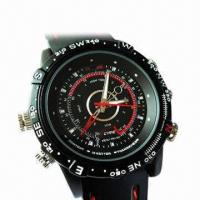 Quality Waterproof Watch Camera with 4GB Internal Memory for sale