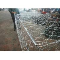 China Hot Dipped Galvanized Wire Gabion Baskets 2*1*0.5m Used In River Protection on sale