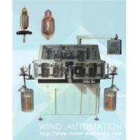 Quality Skewed armature rotor winder double flyer lap winding machine for straight slot skew slot for sale
