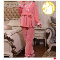 China 2012 Hotsale polyester coral fleece winter pajama for women on sale