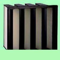 Quality V-series density pleated air filter for sale