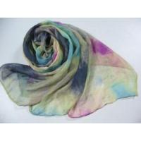 Quality Rainbow Printed Polyester Scarf (HP-C2406) for sale