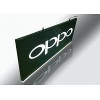 Quality Hanging Light Box Signs, Lighted Outdoor Signs With Cutout Illuminated Letter for sale