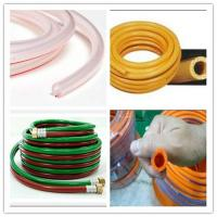 Quality 3 layers Vacuum pvc hose with long life reinforced pvc gaz LPG tubing for sale