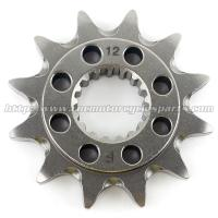 China 20CrMnTi Steel Dirt Bike Front Sprocket on sale
